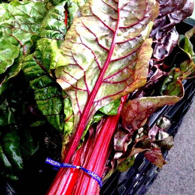 how to prepare red swiss chard