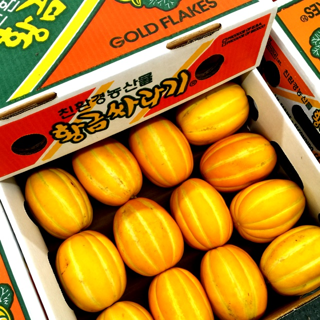 Korean Melon Information, Recipes and Facts