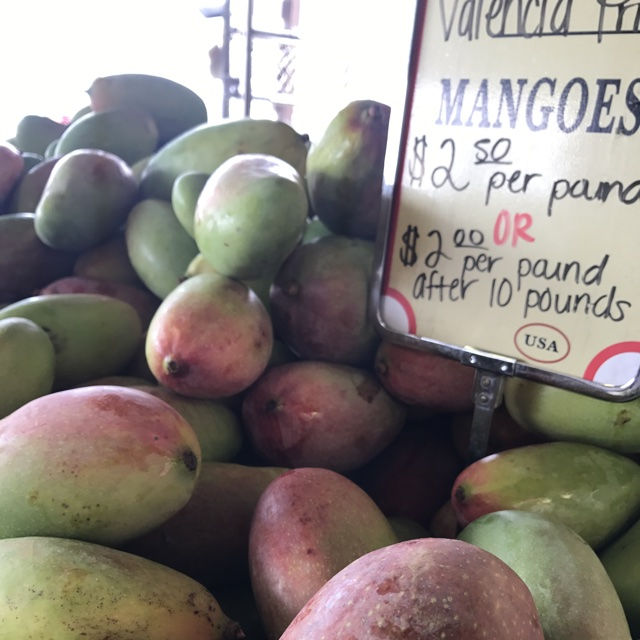 76347b65685d5 Spotter s comments   Valencia Pride Mangoes spotted at Santa Monica Farmers  Market.
