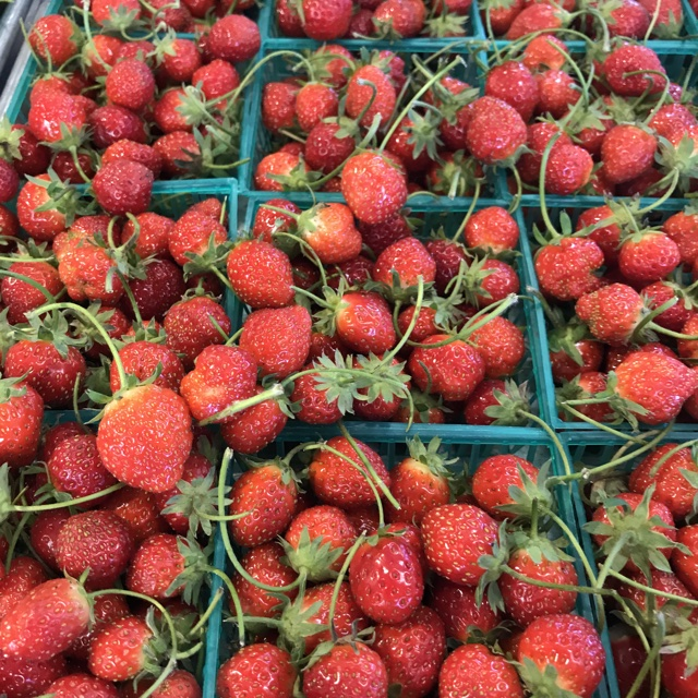 Spotter S Comments Mara De Bois Strawberries Spotted At Chino Vegetable Very Nice Quality