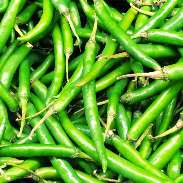 15361a5e87de Spotter s comments   Green Chile Peppers spotted at Namaste Plaza Indian  Supermarket.